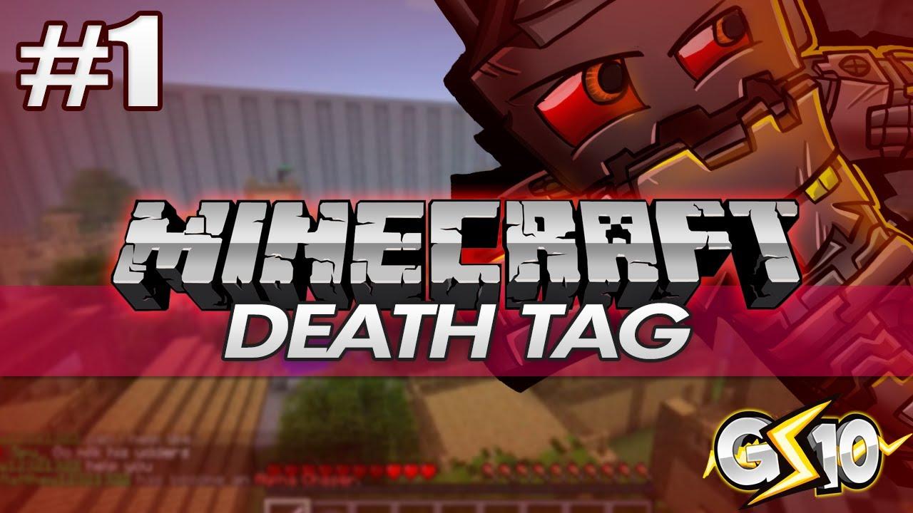 DEATH TAG!! | Minecraft: Minigame! - YouTube