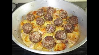 Чудо печь. Тефтели с картофелем в советской чудо печке. Простой и быстрый рецепт