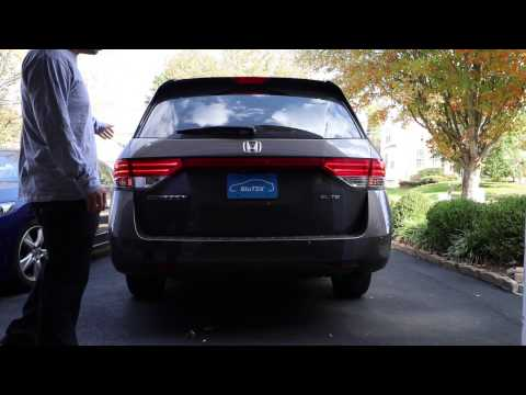 2011-2017 Honda Odyssey Replace Tail Light, Brake/ Stop, Turn Signal, Reverse, & License Plate Bulbs