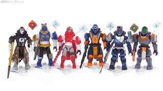 All Mega Construx Destiny Series 1 figures reviewed
