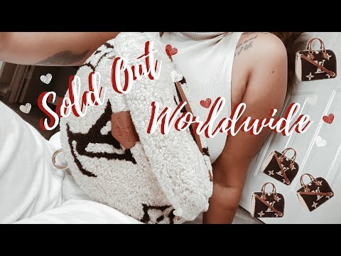SOLD OUT WORLDWIDE?! Nov 2019  Limited New Season Louis Vuitton Teddy Shearling L LUXURY BAG VLOG
