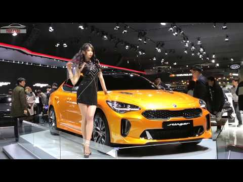 [Top Cars]: 2018 KIA Stinger GT First Look - Seoul Motor Show 2017