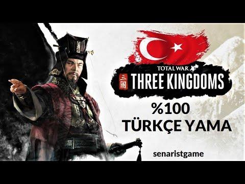 Total War Three Kingdoms Türkçe Yama Indir - Turkish Language Pack Download