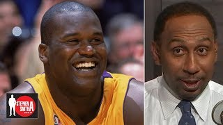 Shaq is the most dominant force in NBA history - Stephen A. | Stephen A. Smith Show