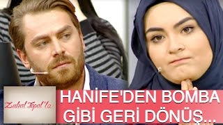 Zuhal Topal'la 92. Bölüm (HD) | Hanife, Okhan'a Cevap Vermek İçin Stüdyoya Geri Döndü!
