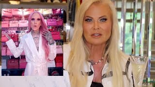 theresa roemer DRAGGED jeffree star's new closet...