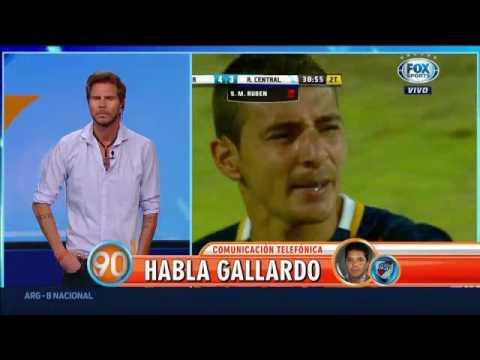 Imperdible Nota A Marcelo Gallardo | CAMPEÓN COPA ARGENTINA 90 Minutos De Fútbol