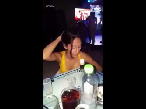 sexy giril drink shots