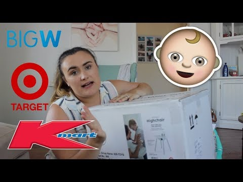 BABY HAUL VLOG | KMART, TARGET & BIG W (2018 SALES) & Discuss Youtube Changes