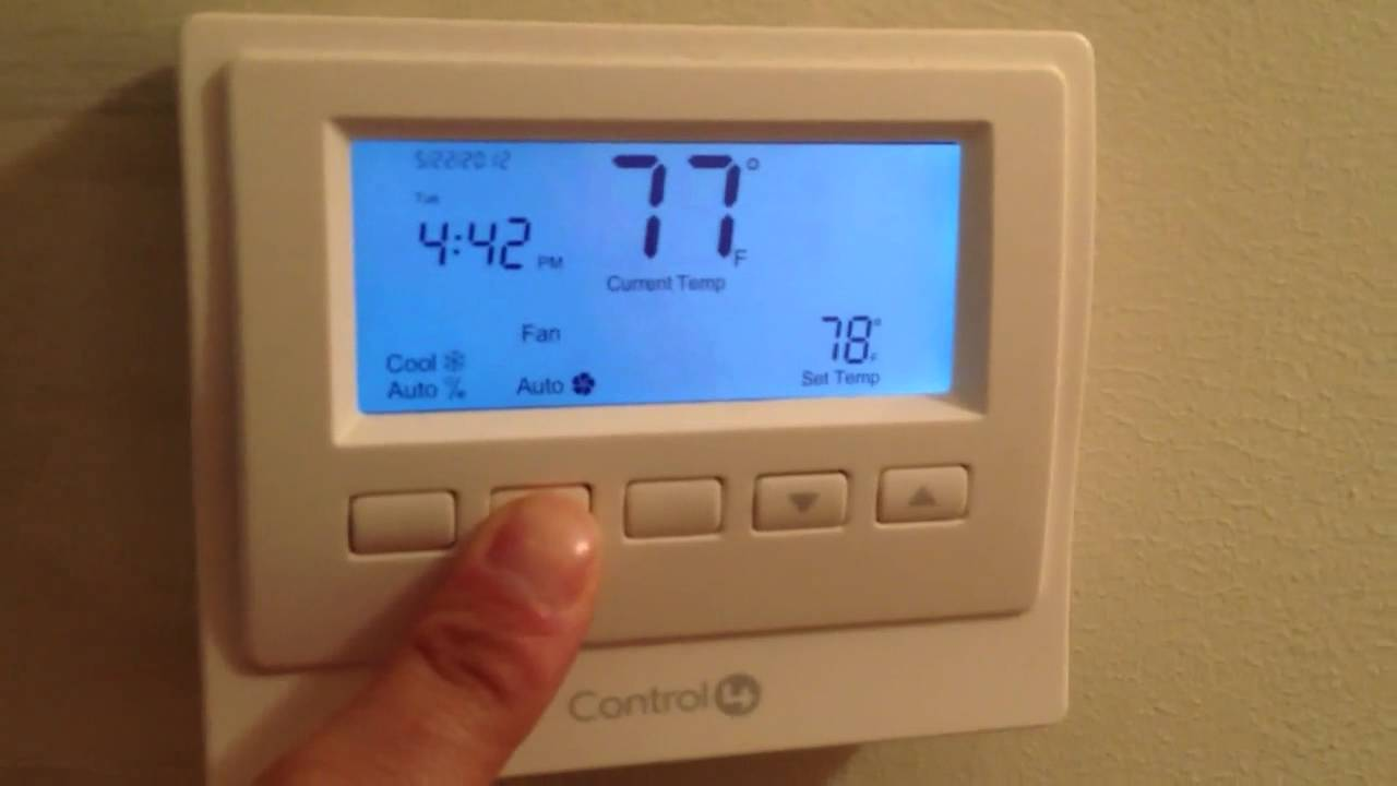 control4 wireless thermostat youtube rh youtube com Control4 Wireless Thermostat control4 thermostat wiring diagram