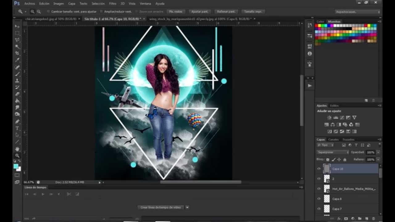 Tutorial Photoshop Cs6 manipulación fantasía. - YouTube