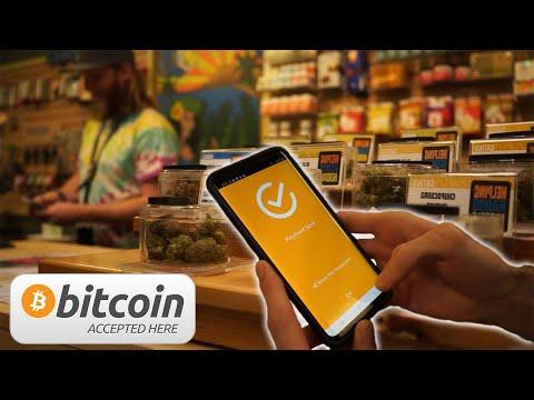 First Legal Bitcoin Payment For Marijuana