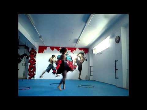 Hula hoop training by Domka