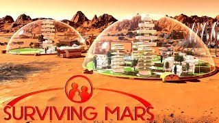 Surviving the Electrostatic Lightning Storm   Ep. 4   Surviving Mars Gameplay