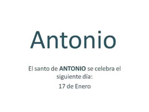 Significado Del Nombre Antonio Conoce Sus Secretos