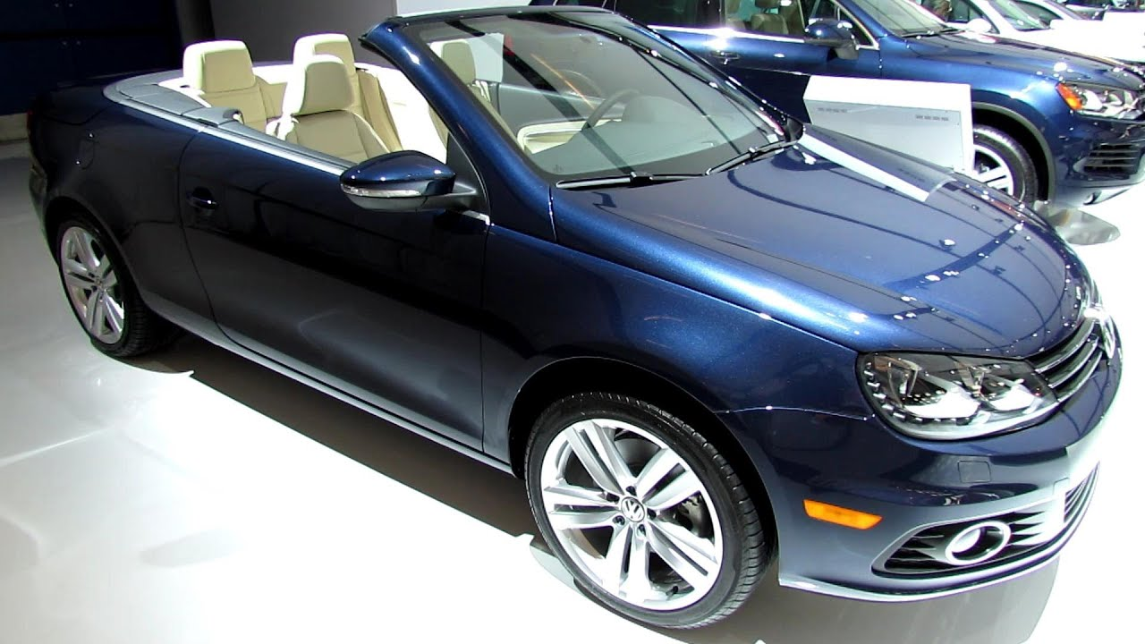 Volkswagen EOS Exterior And Interior Walkaround - Eos car show