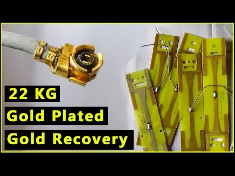 🔶Gold Plated Boards Gold Recovery |Gold Striping from Gold Plated Computer Parts|Computer Recycling