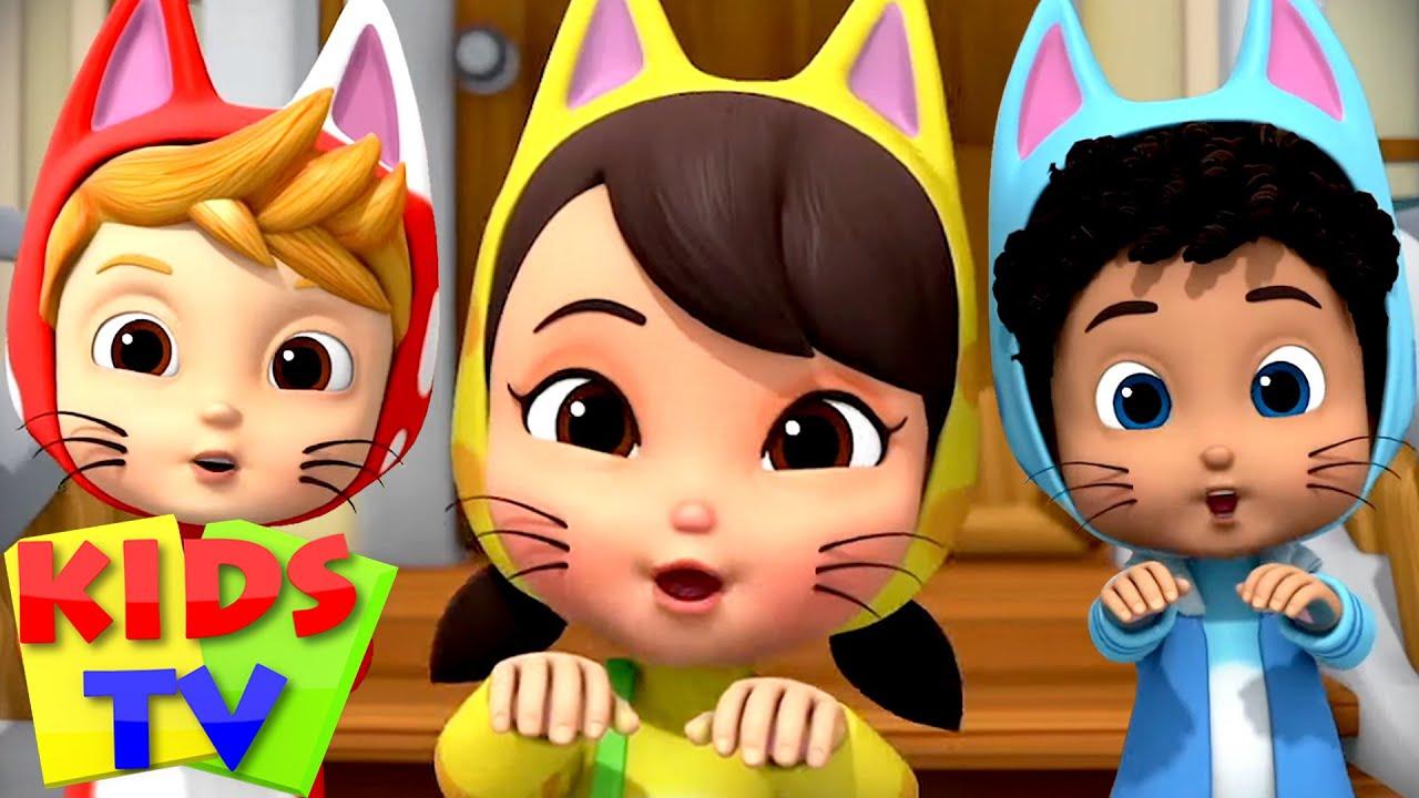 Three Little Kittens | Kittens Song | Nursery Rhymes & Baby Songs | Boom Buddies | Kids Tv