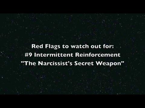 Intermittent reinforcement in relationships