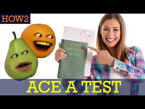 HOW2: How to Ace a Test