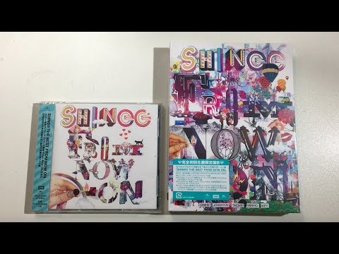 ♡Unboxing SHINee シャイニー The Best Japanese Album From Now On (Standard &  Limited Edition B)♡