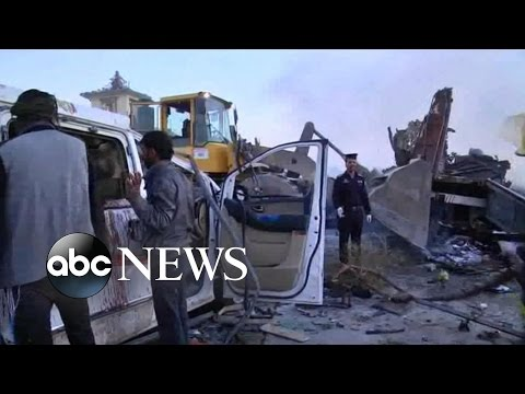 Deadly Suicide Bombing Near Baghdad