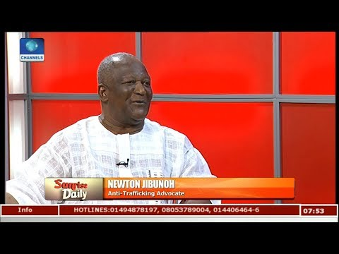 Analyst Expresses Concern Over Rising Human Trafficking In Nigeria Pt 1 | Sunrise Daily |