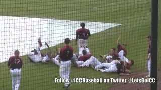 rain delay antics with icc and holmes baseball teams