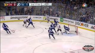Tampa Bay Lightning vs Chicago Blackhawks SCF Game 2 Highlights