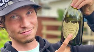 Opening a bottle of Dom Perignon Vintage 2008 Champagne