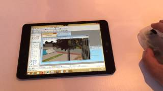 Citrix X1 Mouse with CAD apps on iPad