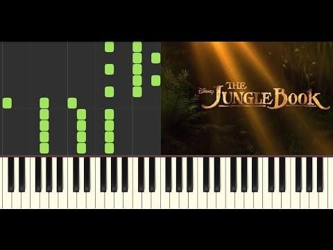 Main Theme - The Jungle Book Piano Cover