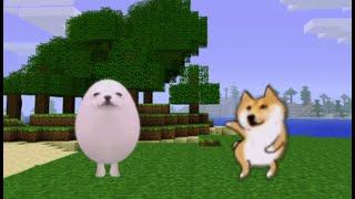 Eggdog vs Dancing Doge