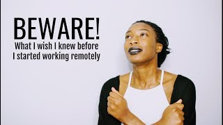 What I Wish I Knew Before I Started Working Remotely