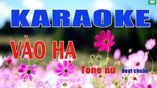 Karaoke Vào Hạ - Tam Ca Áo Trắng - Karaoke Hoàng Đỉnh – Karaoke Beat chuẩn full Band