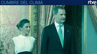 RECEPCIÓN DE LOS REYES Felipe VI y Leticia | Cumbre del Clima