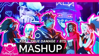 KDA x True Damage x BTS – 'GIANTS x POPSTARS x Mic Drop' MASHUP