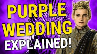 purple wedding explained game of thrones season 4 episode 2 the lion and the rose
