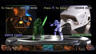 Star Wars: Masters of Teras Kasi All Characters [PSX]
