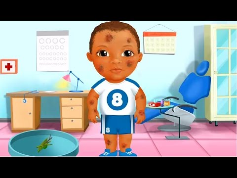play baby doctor and learn how to cure doctor care fun games youtube
