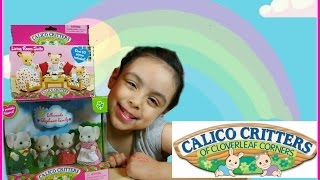 Calico Critters Ellwoods Elephant Family/ Living Room Suite Set Review