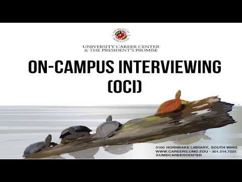 Employers: Your Guide to On-Campus Interviewing