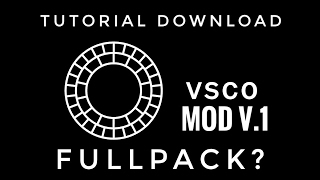 TUTORIAL UNLOCK FILTER VSCOcam FULLPACK?? | VSCOcam MOD V.1 FULLPACK!! 100% WORK