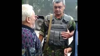 Украина. Обстрел колонны с беженцами. Свидетельство очевидцев.