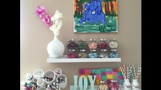Craft Room Tour   Ikea! Storage Ideas, Organizational Ideas