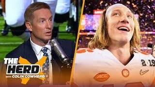 Joel Klatt talks Trevor Lawrence's star potential, if Alabama's dynasty is over | CFB | THE HERD