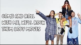 DNCE Body Moves Lyrics