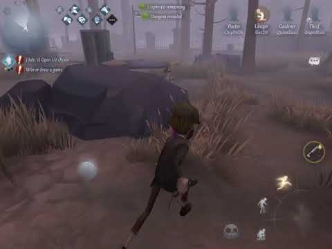 Identity V Asia - When Bots Trigger Hunter's Surrender (Acting Like Bots)