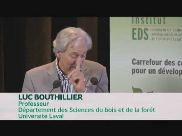 Luc Bouthillier - Le nouveau régime forestier du Québec (1/4)