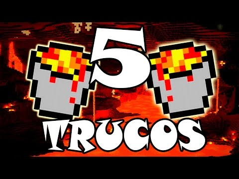 ¡5 Trucos Epicos Con Lava En Minecraft! TU51-52 | Lava Bajo Agua (Xbox360/One/Ps3/Ps4/Pc/Pocket)